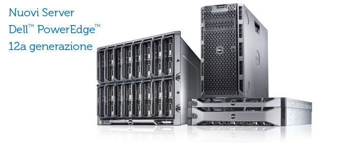 Server Dell Poweredge 12a generazione